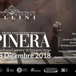 """La Capinera: prima mondiale per il """"melodramma moderno"""""""