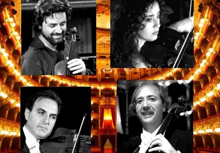 A Castello Ursino concerto del Quartetto d'archi del Teatro Massimo Bellini
