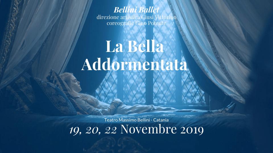 """""""La bella Addormentata"""" della compagniaBJB- Bellini Junior Ballet"""