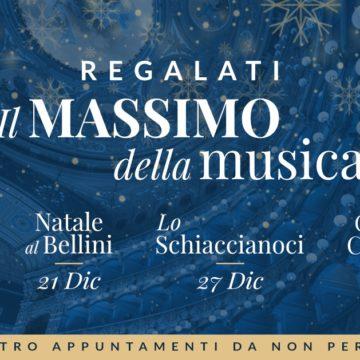 """""""NATALE AL BELLINI"""" 2019 – Regala e regalati il """"Massimo"""" della Musica"""