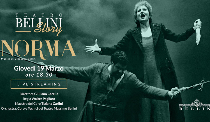 """Nasce """"Teatro BELLINI Story"""", un dono in diretta streaming a tutti gli amanti della musica."""