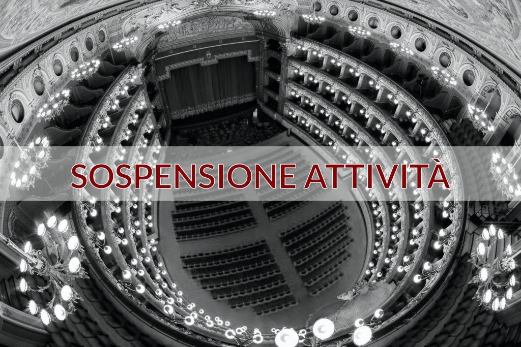 Sospensione spettacoli Teatro Massimo Bellini di Catania