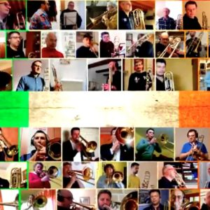 Trombonisti d'Italia: in 70 tutti insieme (via web) per un pezzo inedito