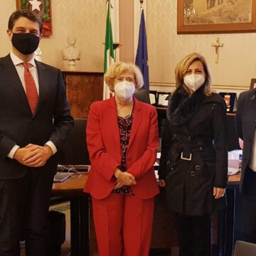 I vertici del Teatro Massimo Bellini in visita istituzionale al Prefetto Librizzi