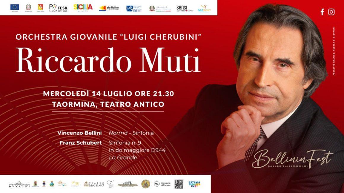 RiccardoMuti a Taormina sul podio dell'Orchestra Cherubini